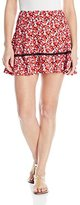 Juicy Couture Black Label Women's Marina Floral Printed Mini Skirt