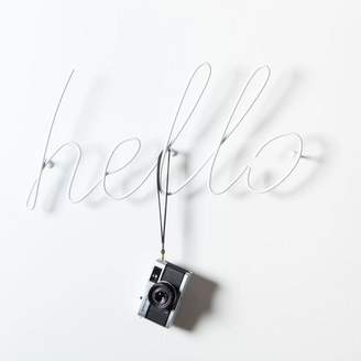 Block Design - Hello Coat Rack White