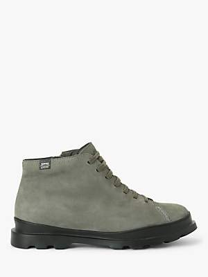 Camper Brutus Waterproof Gore-Tex Leather Boots, Grey