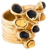 Saint Laurent Arty Dots Cocktail Ring