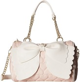 Betsey Johnson Scallop Bow Satchel