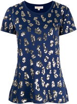 MICHAEL Michael Kors sequin leopard print T-shirt