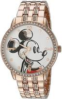 Disney Mickey Mouse Men's W002513 Mickey Mouse Analog Display Analog Quartz Watch