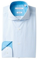 Isaac Mizrahi Printed Diamond Slim Fit Dress Shirt
