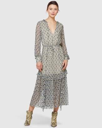 Stevie May Beaming Long Sleeve Midi Dress