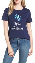 Draper James Women's Hello Tweetheart Tee