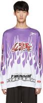 032c Purple Flames Pullover