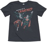 Junk Food Clothing Boy's Making A Legend Tee - Pepper