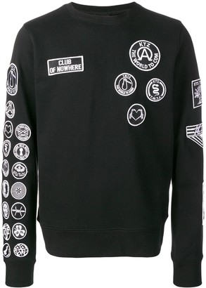 Kokon To Zai Scout Patches Sweatshirt
