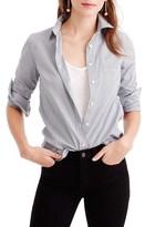J.Crew Women's Everyday Stripe Poplin Shirt