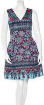 Prabal Gurung Floral Print A-Line Dress