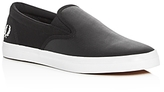 Fred Perry Underspin Perforated Slip On Sneakers