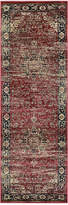 "Couristan HARAZ HAR428 Red 2'7"" x 7'10"" Runner Rug"