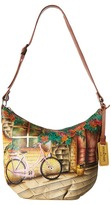 Anuschka 471 Medium Bucket Hobo Handbags