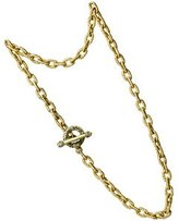 Jay Strongwater Link Chain Necklace Sm.