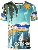 Dolce & Gabbana Catania print T-shirt - men - Cotton - I