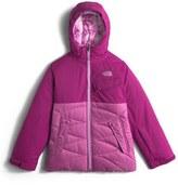 The North Face 'Carly' Heatseeker TM Waterproof Hooded Jacket (Big Girls)