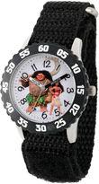 Disney Moana Boys Black Strap Watch-Wds000032