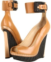 Brian Atwood Alouette (Natural Leather) - Footwear