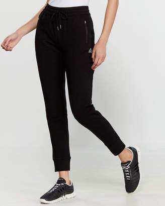 Reebok Black Essential Cuffed Slim Jogger Sweatpants
