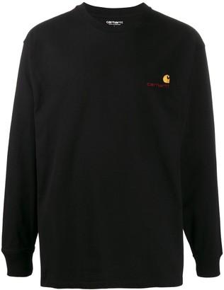 Carhartt WIP American script longsleeve sweatshirt