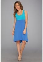 Tommy Bahama Koko Jersey High-Low Dress (Turkish Sea) - Apparel