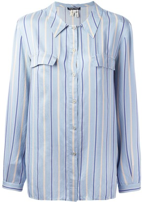 Giorgio Armani Pre-Owned Striped Shirt