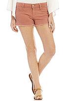 YMI Jeanswear Frayed Hem Cutoff Stretch Denim Shorts
