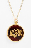 Moon and Lola Women's 'Vineyard' Personalized Monogram Pendant Necklace