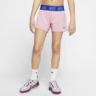 Nike Big Kids' (Girls')' Training Shorts Dri-FIT Trophy