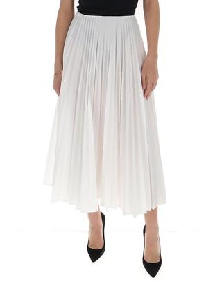 Valentino Pleated Maxi Skirt