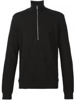 Maison Margiela half zip pullover sweatshirt