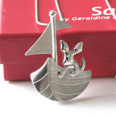 SABA Jewellery Brendan's Voyage Dog Necklace