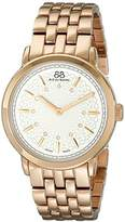 88 Rue du Rhone Women's 87WA120013 Rose Gold-Tone Stainless Steel Watch with Diamond Accents