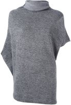 Y's cropped sleeves jumper - women - Nylon/Wool - 2