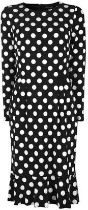 Ralph Lauren Hennie Long- Sleeve Day Dress