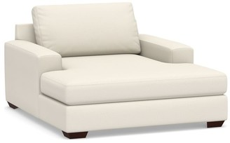 Pottery Barn Big Sur Square Arm Upholstered Grand Chaise