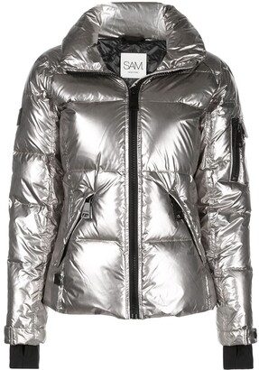 SAM. Freestyle high-neck puffer jacket