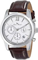 Lucien Piccard Men's LP-12356-02S Mulhacen Analog Display Japanese Quartz Brown Watch