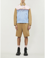 Prada Pixel Atom graphic-pattern cotton-twill jacket