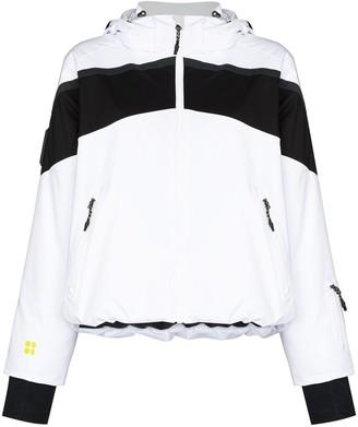 Sweaty Betty Panelled Hooded Padded Jacket