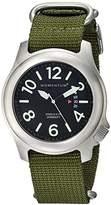 Momentum Men's 1M-SP74B7G Steelix Analog Display Japanese Quartz Green Watch