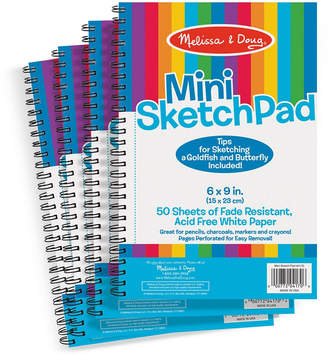 Melissa & Doug Mini-Sketch Pad Bundle - 4 Pack