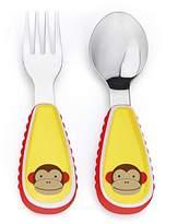 Skip Hop Zootensils Fork and Spoon Utensil Set, Marshall