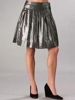 Metallic Voile Skirt