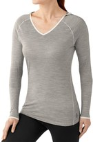 Smartwool NTS Micro 150 Hooded Base Layer Top - Merino Wool, Long Sleeve (For Women)