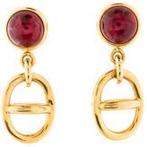 Gucci Resin Drop Clip-On Earrings