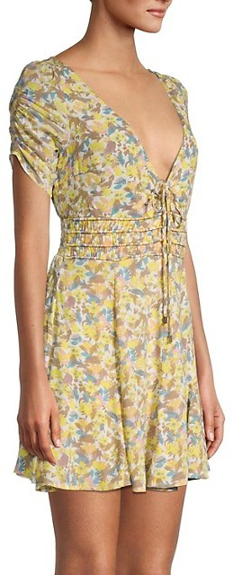 Thumbnail for your product : Free People Forget-Me-Not Floral Dress