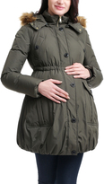 Loden Dixie Maternity Down Puffer Coat