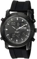 Kenneth Cole Reaction Men's Quartz Metal and Rubber Casual Watch, Color: (Model: RKC0217004)
